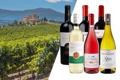 Weinpaket Italien entdecken - Urlaubscharme vom Stiefel