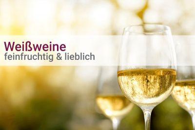 Weinpaket Weißwein feinfruchtig-lieblich