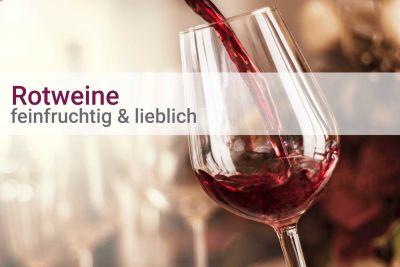 Weinpaket Rotwein feinfruchtig-lieblich