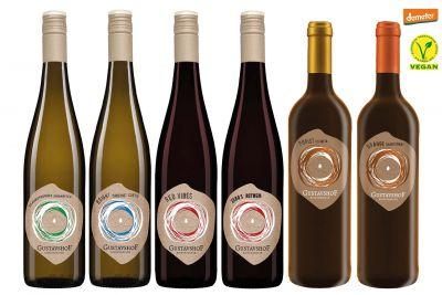 Weinpaket Weingut Gustavshof: immer bio - immer vegan
