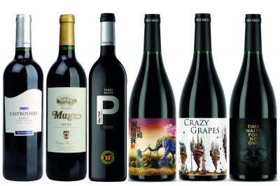 Weinpaket Vino Rojo aus Spanien