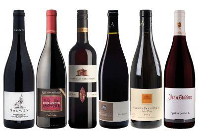Weinpaket Vereintes Europa - Spätburgunder Rotwein