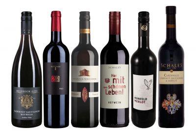Rotwein-Vielfalt aus Deutschland