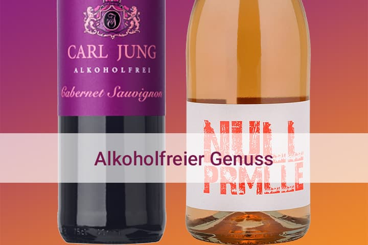 Alkoholfrier Genuss Wein Sekt Rotwein Weißwein Hunfeld Wein online bestellen