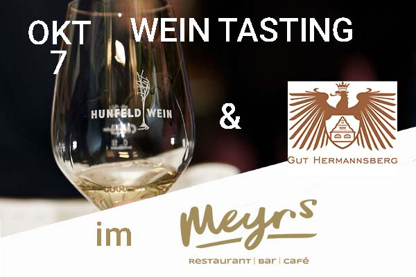 Weintasting Gut Hermannsberg im Meyrs Rastede am 7 Oktober 2021