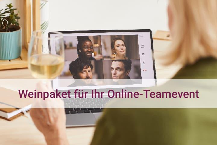 Weinpaket Online Teamevent für die Weinprobe mit Kollegen Hunfeld Wein online bestellen
