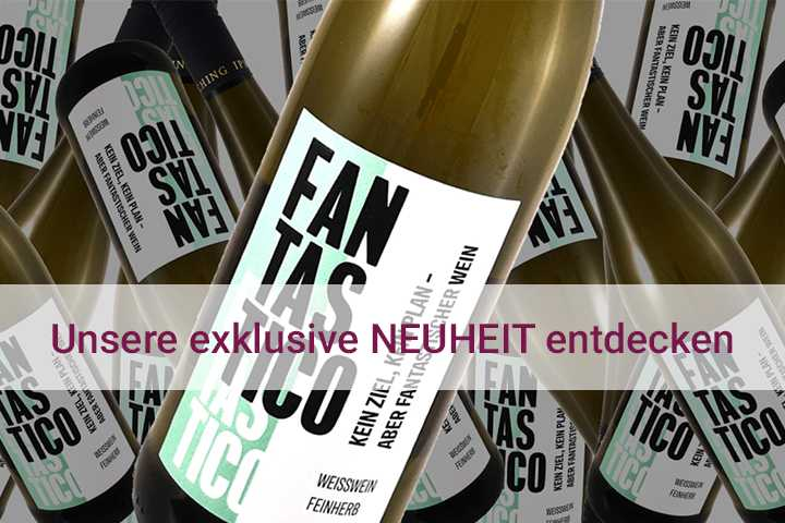 Jetzt unsere exklusive Neuheit entdecken 2020 FANTASTICO Weißwein-Cuvée Qualitätswein VDP-Weingut Hans Wirsching Franken Deutschland