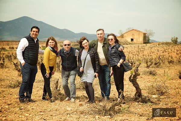 Weingut Care Bodegas Anadas Spanien Carinena Winzerfamilie