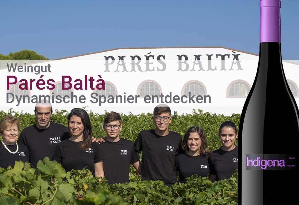Weingut Parés Baltà Penedés Spanien Weißwein Rosé Rotwein