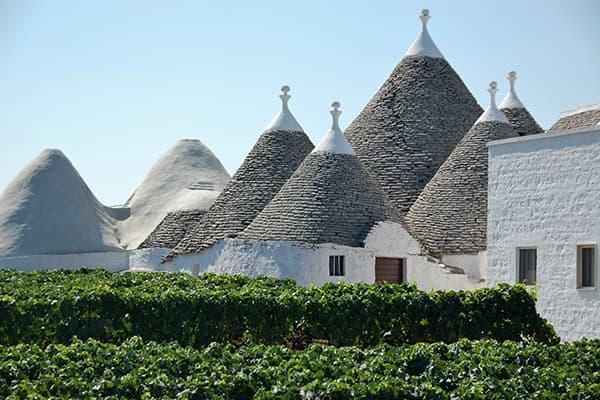 Primittivo di Manduria DOC-Region Apulien Italien