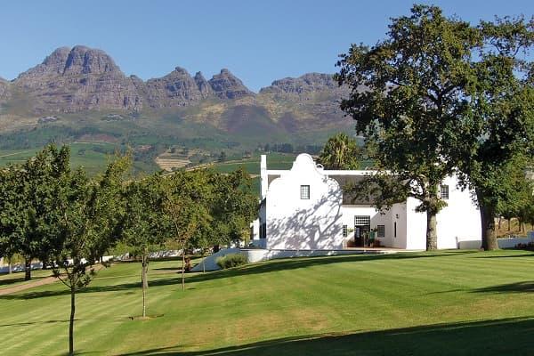 Weingut Leeuwenkuil Paarl Wein Paarl Winzer Südafrika