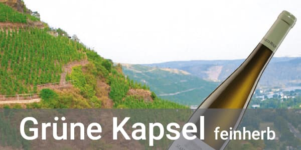 Weingut Markus Molitor Riesling feinherb Grüne Kapsel