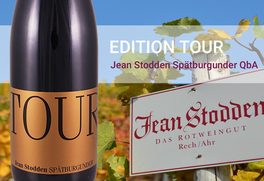 EDITION TOUR Jean Stodden Spätburgunder Qualitätswein Deutschland Ahr  Rotwein trocken