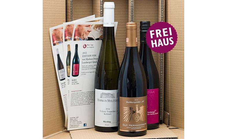 Hunfeld Wein Abo monatlich Weinpaket