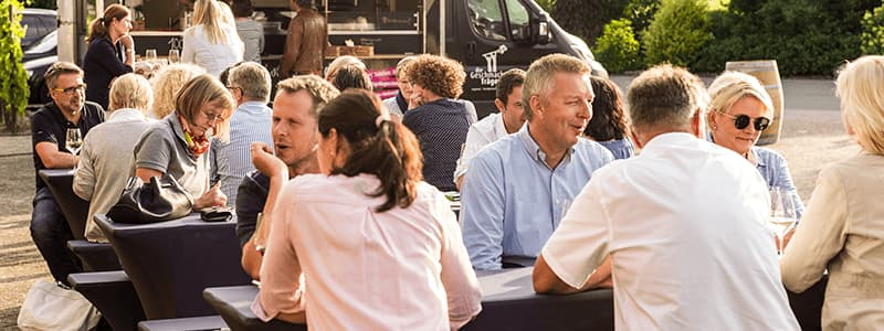 Weinproben auf Veranstaltungen Tasting Pary
