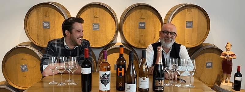 Online Live Weinprobe mit Fritz und Simon