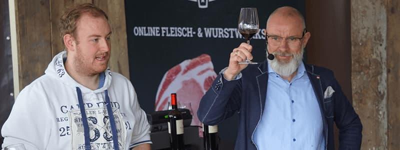 Weinproben auf Veranstaltungen Gut Horn Gristede