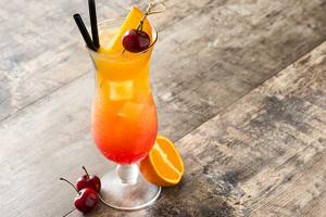 Alkoholfreie Cocktails Mocktail Safer Sex on the Beach Rezept