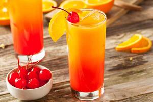 Alkoholfreie Cocktails Virgin Sumrise Rezept