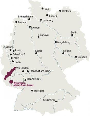 Weingut Markus Molitor Weinregion Mosel Saar Ruwer Deutschland