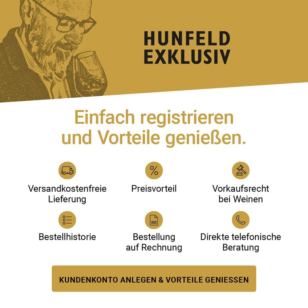 Hunfeld Exklusiv - Registrieren Sie sich und sichern Sie sich viele exklusive Vorteile.