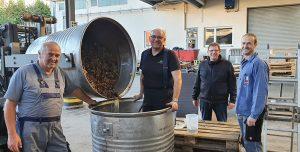 Weinlese 2020: Durbacher Winzergenossenschaft (Baden)